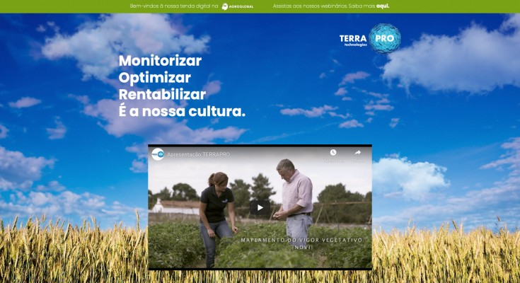 TerraPro tenda virtual Agroglobal